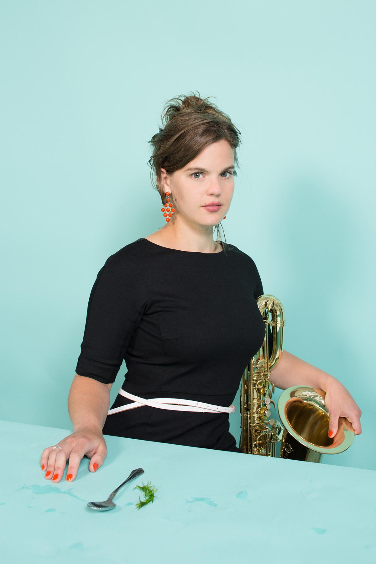 Syrène Saxofoonkwartet, foto door Heidi de Gier