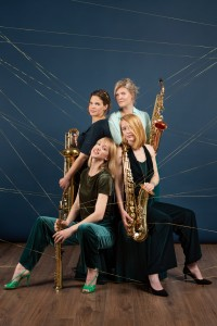 Syrène Saxophone quartet - Photo by Heidi de Gier.
