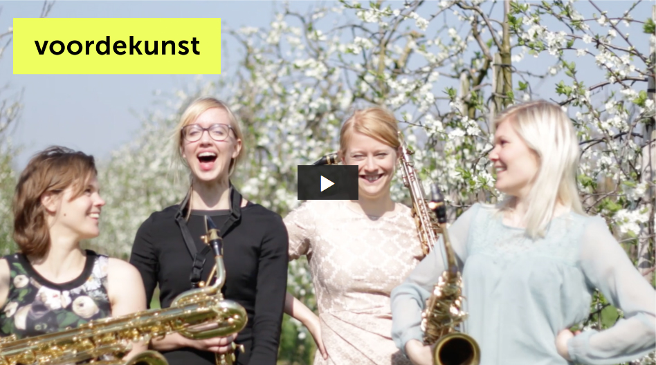 Syrène Saxophone Quartet - VOORDEKUNST